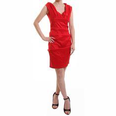 イネスドレープショルダードレス #Party #Wedding #Dress #Red