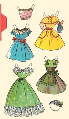 paper dolls were a major part of my childhood.