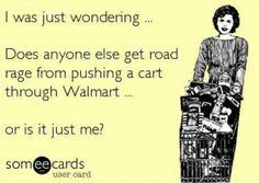 cart rage!