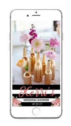 Wedding Shower Snapchat Geo Filter