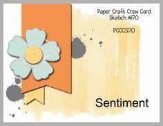 Paper Craft Crew Card Sketch 170. #papercraftcrew #cardsketch