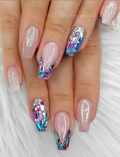 Beautiful Glittering Short Pink Nails Art Designs Idea For Summer And Spring - Lily Fashion Style Summer Acrylic Nails, Summer Nails, Short Pink Nails, October Nails, Manicure Colors, Bride Nails, Pink Nail Art, Gradient Nails, Hair Skin Nails