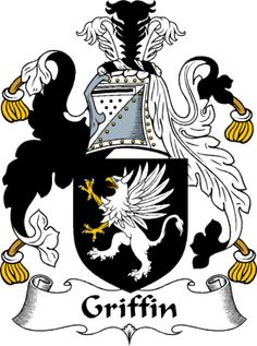 family crest griffin | griffin clan coat of arms griffin clan news and events