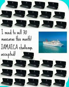 I wouldn't mind a free trip to Jamaica just for selling mascara!! #workfromhome