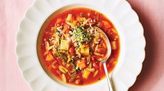WINTER VEGETABLE MINESTRONE Recipe - Booths