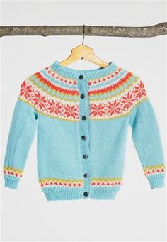 nancy kids cardigan.