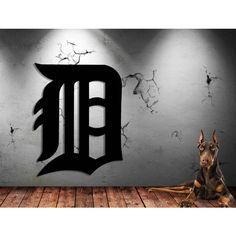 Detroit Sports Wall Art Baseball Logo 18 Gauge Steel Metal Sign 16 X... ($40) ❤ liked on Polyvore featuring home, home decor, wall art, black, home & living, home décor, wall decals & murals, wall décor, wall murals and sports wall decals