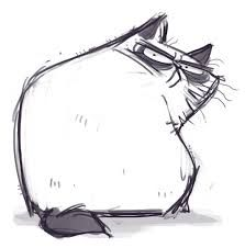 angry cat drawing - Google Search