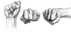 In this demo, I'll teach you how to draw a fist! All 5 hand demos in the premium course at Drawing Fist, Feet Drawing, Human Anatomy Drawing, Anatomy Art, Hand Drawing Reference, Art Reference Poses, Hand Fist, Shadow Drawing, Hand Sketch