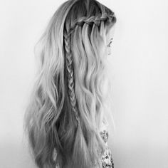 Braids can start and end wherever you like for a look that is totally unique. #socool #CozysBraidBar