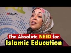 Islamic Lectures of Yasmin Mogahed, Mufti Ismail Menk, Islamic Speakers: The Absolute Need for Islamic Education Yasmin Mog. Speakers, Islamic, Education, Reading, Music Speakers, Educational Illustrations, Learning, Loudspeaker, Studying