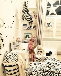 Monochrome madness  #night night #nursery needs a declutter I think... by…