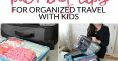 Organized Travel and Packing with Kids