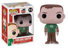 Pop! TV: Big Bang Theory - Sheldon Green Lantern Shirt