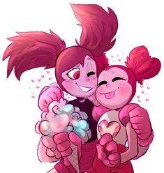gorls by on DeviantArt Steven Universe Ships, Steven Universe Funny, Steven Universe Personajes, Steven Universe Wallpaper, Galaxy Photos, Universe Art, Cartoon Shows, Cartoon Network, Anime