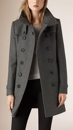 Explore all women's clothing from Burberry including dresses, tailoring, casual separates and more in both seasonal and runway designs Wool Trench Coat, Burberry Trench Coat, Atomic Blonde, Blazers, Funnel Neck, Blazer Jacket, Cashmere, Clothes For Women, My Style
