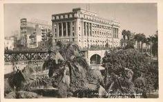 """Na imagem, um postal do """"edifício Light e Power"""", e o primeiro Viaduto do Chá. O prédio ainda está sem a fachada voltada para rua Formosa. Foto possivelmente entre 1935/1938, pois não vemos o edifício do Mappin (João Brícola) na Praça Ramos, erguido em 1939."""