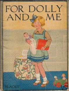 Vintage illustration by Honor C. Appleton #americangirl