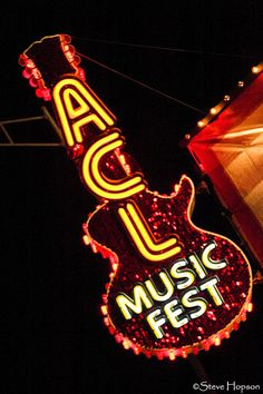 Austin City Limits Music Festival. Anytime I have a visitor I want to try to win tickets to an acl taping.