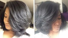 """Stretched Styling With: @fluffcoif """"Stretched styles showcase the versatility of natural hair."""""""