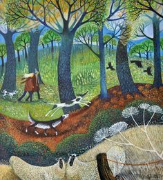 Lisa Graa Jensen not so sure about the representation of the sheep it is like looking into one of those trick mirrors