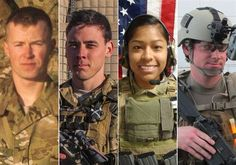 These are 4 of the 5 Warriors killed this weekend in defense of our Country. They deserve our undying gratitude even though our government has failed them. Please help me honor them so they are not forgotten.