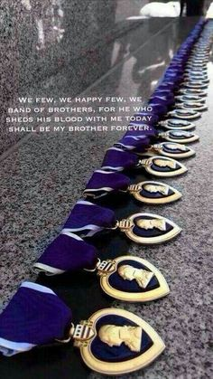 Remember the fallen. Military Veterans, Military Life, Army Life, Military Personnel, Marine Corps, Purple Heart Day, Purple Hearts, Military Quotes, My Champion