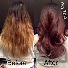 Darker for fall by Guy Tang #balayage #ombre #sombre