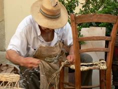 Impagliatore di sedie-postato da Elio Corso (ZH)