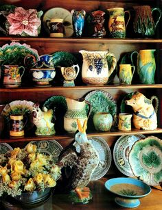 Majolica-I love it! Fun and colorful collection