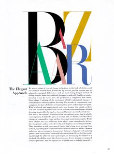 The Elegant Approach: Harper's Bazaar September 1992 | Liz Tilberis premiere issue | MMA scans @ TFS