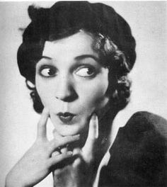 Zasu Pitts, 1930's (1894–1963) . Comedienne with her forlorn eyes and trademark woebegone vocal pattern and fidgety hands. First in silent films, then a daft-headed character actress in films from the 20s to the 50s. She rose above her shy demeanor to join her high school's drama department. She went on to make a career out of her unglamorous looks and wallflower tendencies in scores of screwball comedy treasures. (Source: IMDb)