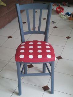 Moderniser une ancienne chaise de cuisine Instructions...