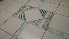 Mosaic in breakfast nook