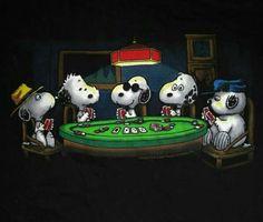 Poker Snoopies!