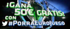 eurojuego porra 100 euros twitter derbi Real Madrid vs Atlético de Madrid 13 septiembre