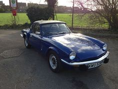 1975 TRIUMPH SPITFIRE BLUE  We ordered one of these from the factory while stationed overseas and LOVED it!!