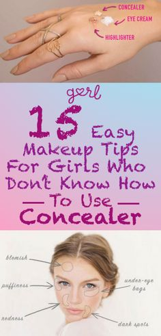 Concealer seems like it should be super simple: dab a little bit on the pimples and blemishes you want to hide, blend it in, look #flawless. Unfortunately, as with most makeup products, it isn't always that easy – especially for beginners.