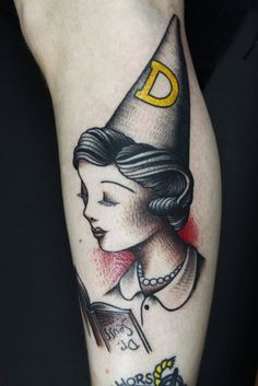 dr seuss dunce #tattoo #ink