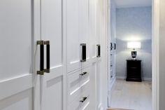 garderobe-soverom-brubakken-home Tall Cabinet Storage, Locker Storage, Lockers, Furniture, Home Decor, Bedroom, Decoration Home, Room Decor, Locker