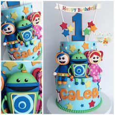 Team umizoomi cake [instagram: @sophiesweetshop and sophiesweetshop.com in carson, california]