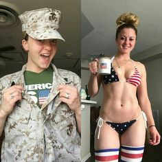 40 Girls Who Are Sexy In And Out Of Uniform - Wow Gallery bikini and thigh socks Gorgeous Women, Amazing Women, Military Girl, Military Women, Mädchen In Bikinis, Girls Uniforms, Badass Women, Female Soldier, Looking For Women