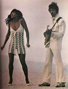 Ike and Tina Turner photographed by Richard Busch in Las Vegas, 1969.