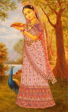 The Asta Sakhis- Vishakha