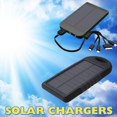 Solar Charger Power Bank, Solar Phone Charger South Africa #powerbank #chargers #solarcharger #solar #phonecharger #southafrica