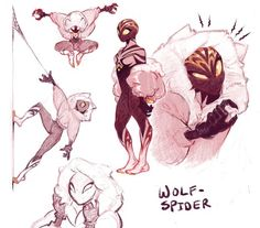 30 Ideas For How To Draw Spiderman Animation Fantasy Character Design, Character Design Inspiration, Character Art, Spider Art, Wolf Spider, Spider Verse, Spider Drawing, Superhero Design, Marvel Art