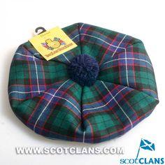 Clan Hunter Tartan Tam: