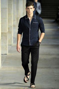 Hermes Men's Pajama Shirt