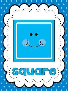 Polka Dot Shape Posters by Smartie Pants Preschool Classroom Decor, Preschool Writing, Preschool Learning Activities, All About Me Preschool, Math For Kids, Shapes Flashcards, Emotions Preschool, Teaching Shapes, Home Preschool