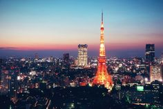 #Japan #Tokyo #Tokyo_Tower